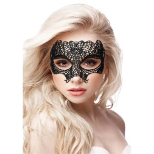 OUCH! PRINCESS BLACK LACE MASK BLACK