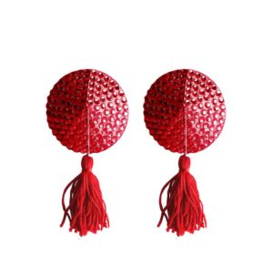 OUCH! SHOTS OUCH! NIPPLE TASSELS ROUND RED