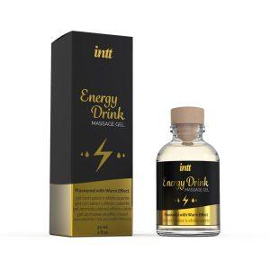 INTT MASSAGE GEL ENERGY DRINK 30 ML