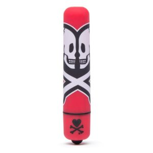 TOKIDOKI SINGLE SPEED MINI VIBRATOR RED DEATH DO US