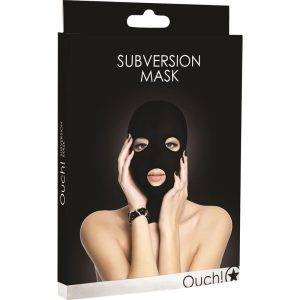 SHOTS OUCH! SUBVERSION MASK BLACK
