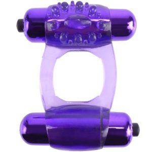 FANTASY C-RINGZ DUO-VIBRATING SUPER RING PURPLE