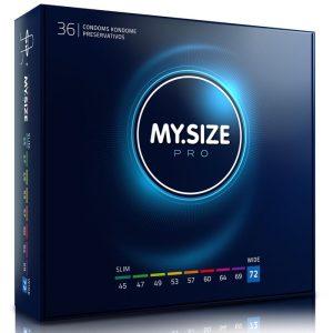 MY SIZE PRO CONDOMS 72mm 36 UNITS