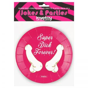 LOVETOY PAPER-CARTON PLATES PACK OF 6